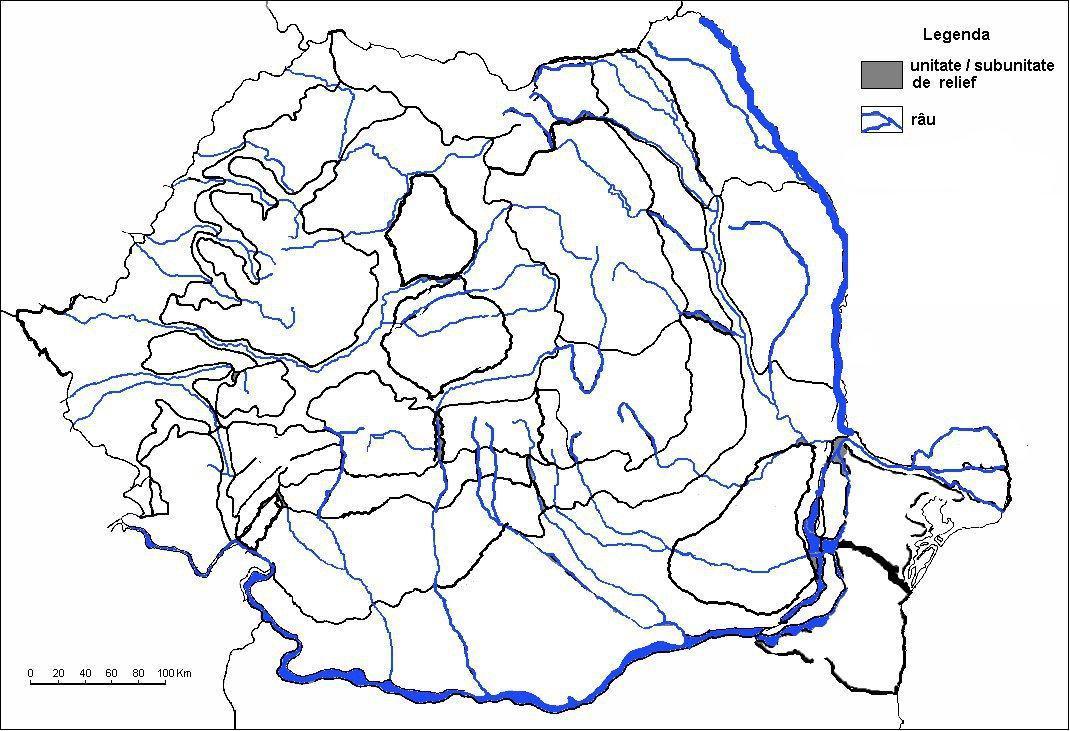 Poate Cineva Sa Imi Dea O Harta Muta Cu Romania Brainly Ro