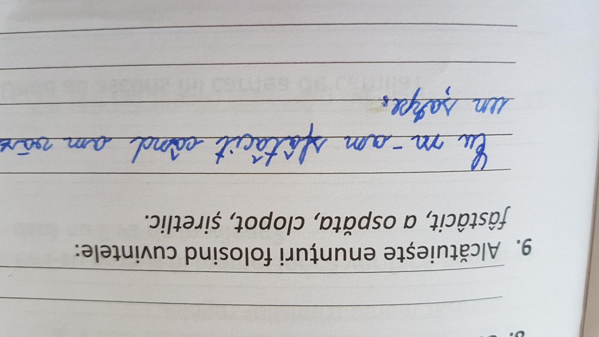 Varice este o propoziție
