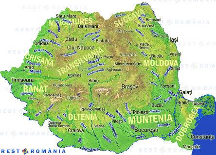 Dati Mi Harta Cu Raurile Romaniei Dau Coroana Brainly Ro