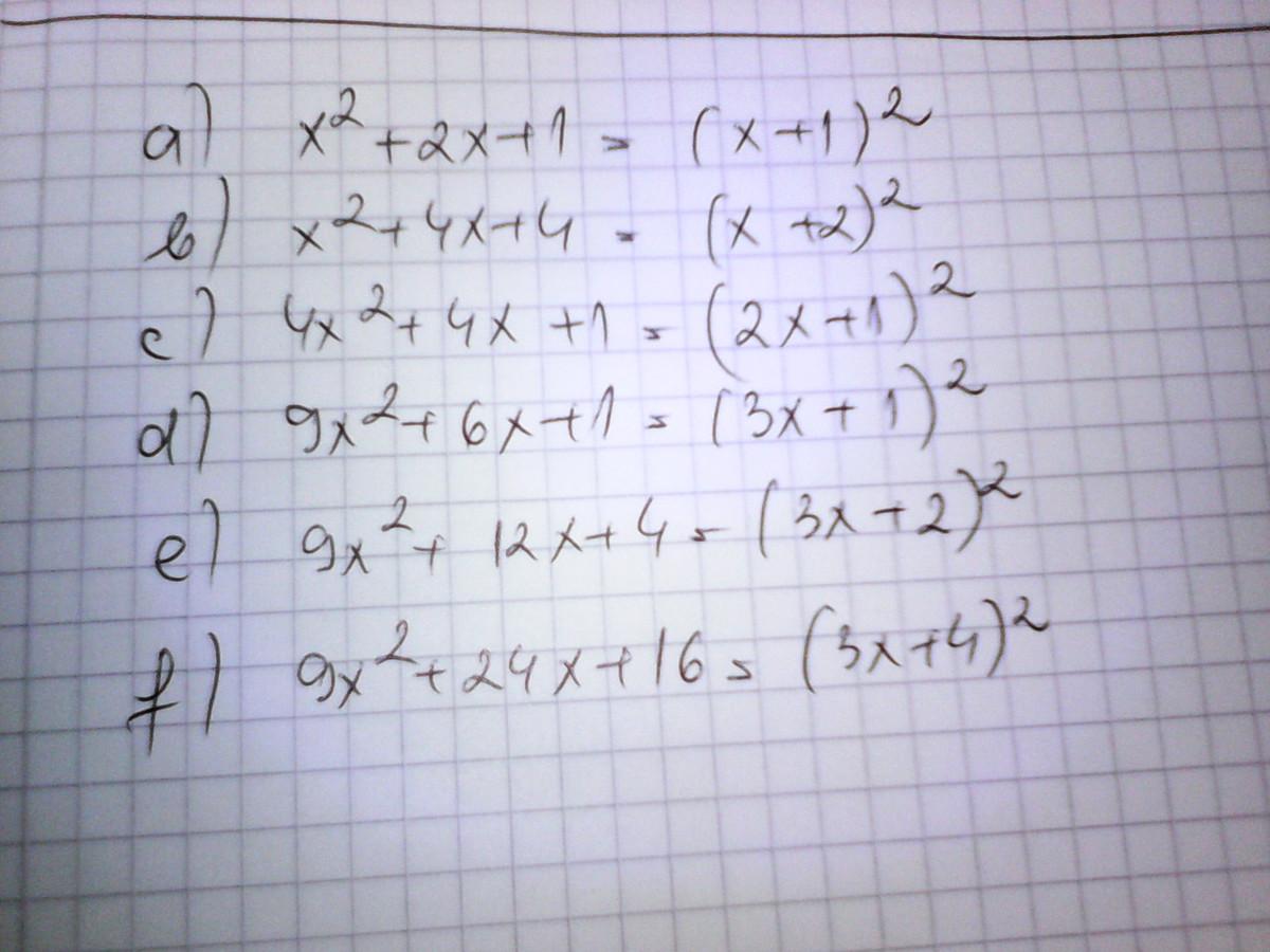 descompuneti in factori urmatoarele expresii:a)x²+2x+1= b ...