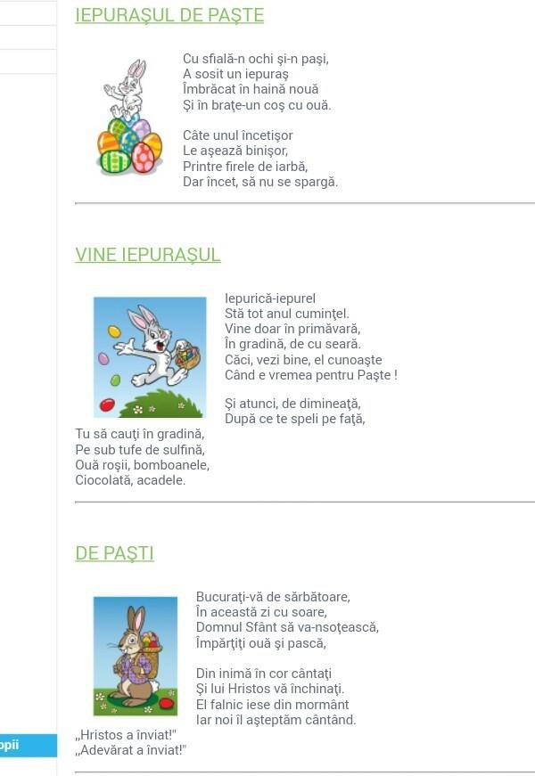 Poezii de paste cu oua - Despre viața din România