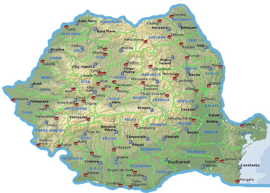 Privește Harta Romaniei Scrie A Toate Numele De Orașe B Nume