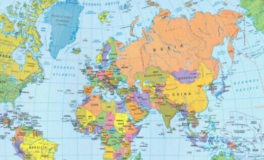 Care Este Cel Mai Mare Stat Din Harta Politica A Lumii Brainly Ro