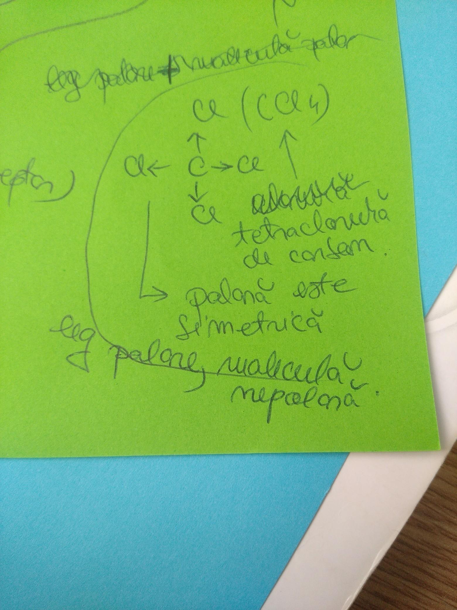 Dati exemple de substante chimice ce prezinta, -numai ...